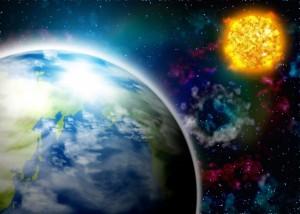地球 太陽 フレア 宇宙