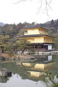 金閣寺鏡湖池