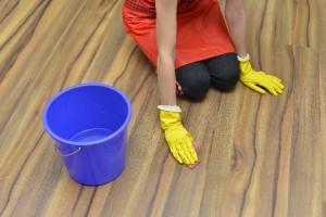 床掃除 フローリング バケツ 雑巾