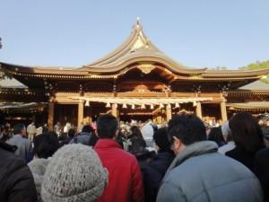 初詣 神社
