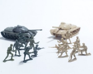 戦争 ミニチュア